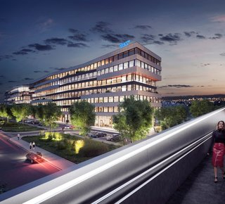 Lease, Commercial Offices, 2600m² - Praha - Libeň