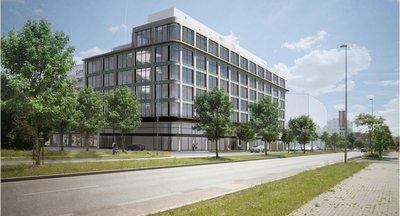 Pronájem kancelářských prostorů v Karlíně s terasou, 6000m² - Praha 8