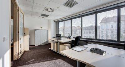 Pronájem vybavených a servisovaných kanceláří ihned - Praha Anděl