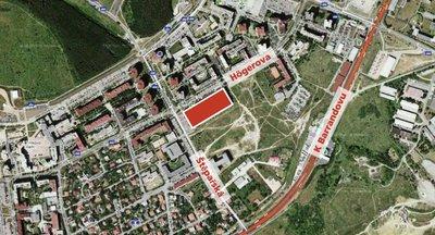 Pronájem Obchodních prostor od 500 až 3 500 m2 v residenční části Prahy 5