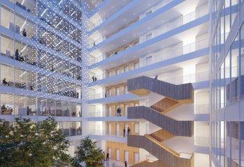 Nové a zařízené kanceláře k pronájmu - Pankrác- až 3000 m2