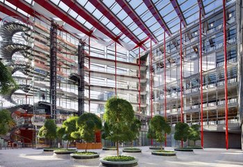 New offices in Karlín - equipment and services included in the rent - up to 4000 m2