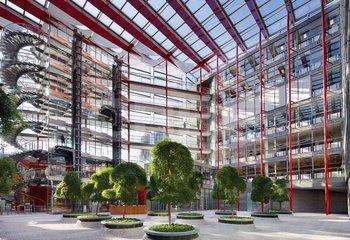 Nové kanceláře v Karlíně - vybavení a služby v ceně nájemného - až 4000 m2