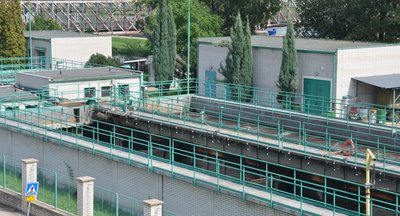 Provoz čistírny odpadních vod/ČOV - Nelahozeves