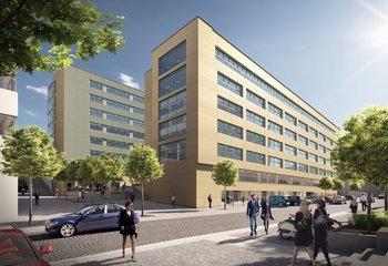 Retail space - BB Centrum B - Vyskočilova, Prague 4 - 95 and 240 m2