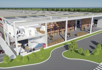 Skladové haly na prenájom-Bratislava Letisko / Warehouses for lease in Bratislava- Airport