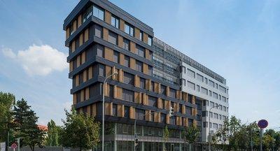 Pronájem hotové kanceláře, 230m² - Praha 4 - Budějovická