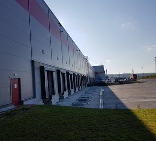 Pronájem moderních skladových prostor 5,800 m² - Dobřany