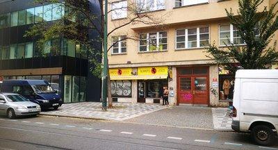 Pronájem 230 m2 - Obchodní prostory Karlín - Praha 8