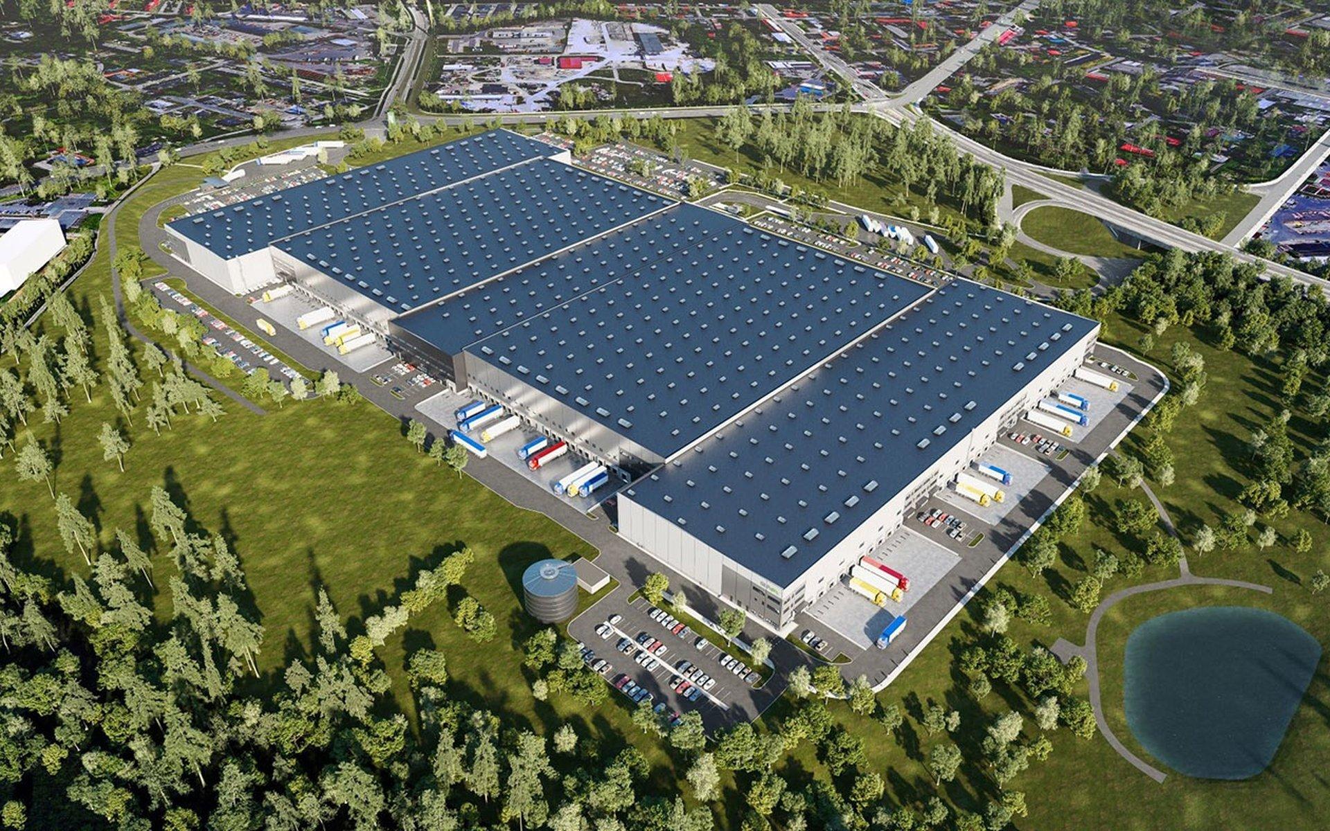 Vermietung von modernen Lager- und Produktionsflächen, Ostrava - Hrušov bis zu 92.000 m2