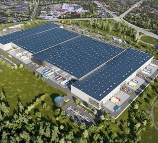 Lease of modern warehouse and production space, Ostrava - Hrušov up to 92,000 m2