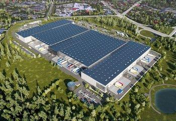GLP Park Ostrava Hrušov - pronájem skladových a výrobních prostor