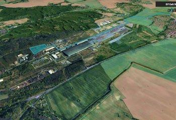 Průmyslový pozemek Kladno