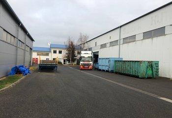 Nabízíme k pronájmu skladově-výrobní areál v Žebráku