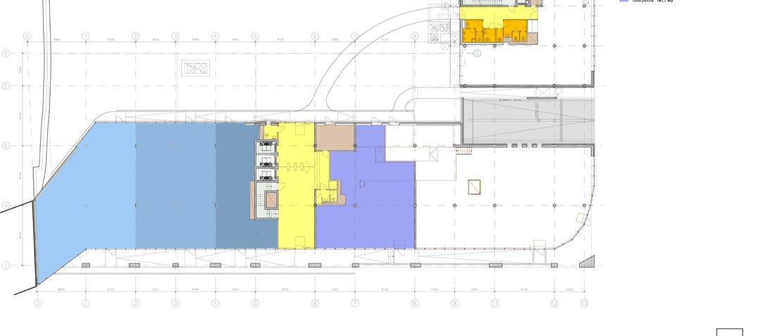 Budova_G_Plánek prostor 483,5m2