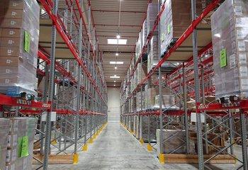 Logistické služby - až 4.000 ks palet - Jažlovice.