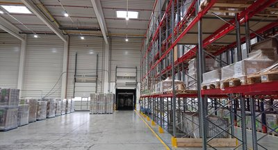 Skladovací služby - až 4.000 ks palet - Jažlovice