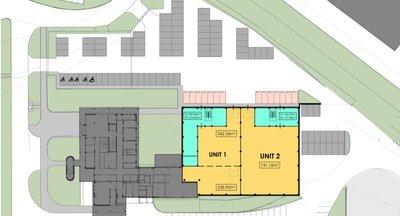 Pronájem skladových prostor -  2.138 m² - Praha - Štěrboholy