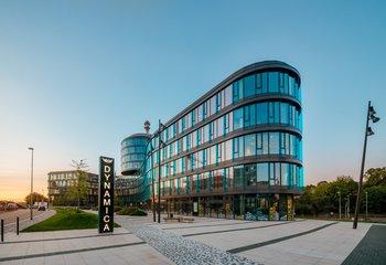 Waltrovka, budova Dynamica - Praha 5