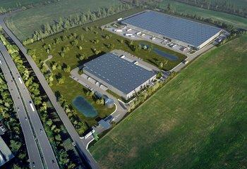 GLP Park Praha Chrášťany - Vermietung von Lager- und Produktionsflächen