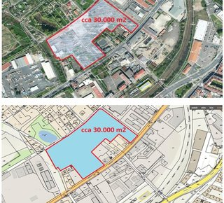 Rent: Warehouse, production or retail space in Teplice, Nákladní Street