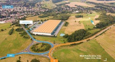 Pronájem výrobních a skladových prostor 40 900 m² - Rumburk