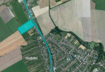 Industriálny pozemok s vydaným UR v obci Komjatice/ Industrial plot for sale with zoning permit in Komjatice