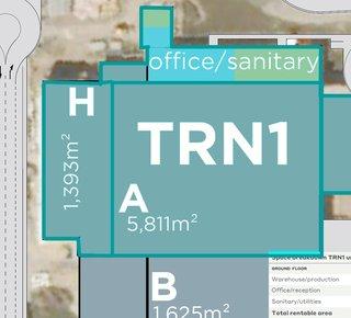 Prenájom výrobnej haly v Trnave/ Production hall for rent in Trnava