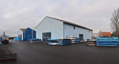 Pronájem 4 samostatných hal až 3 577 m² - Osov