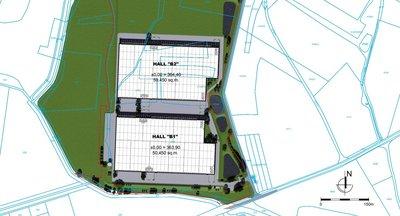 Pronájem skladových prostor 50.450 m² - Přehýšov