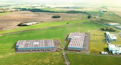 Pronájem skladových/výrobních prostor - 27 376 m² - Cheb - jih