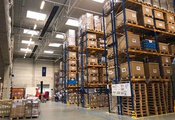 Profesionální logistická společnost nabízí své služby v P3 parku v Liberci.