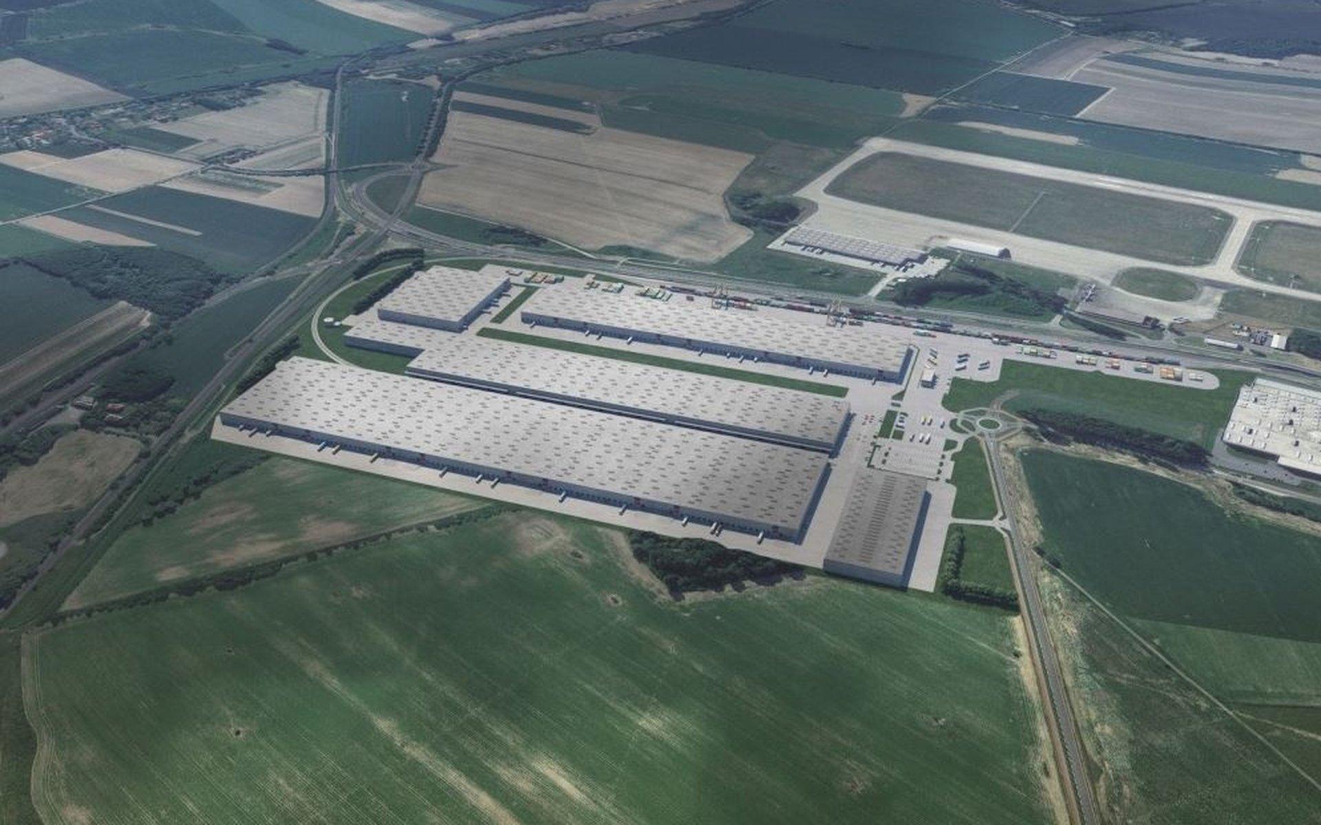 Pronájem moderních výrobních a skladovacích prostor - 80 000m² - Mošnov
