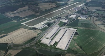 Pronájem výrobních a skladovacích prostor - 60 874 m² - Mošnov