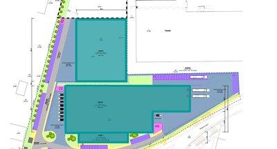 Skladové alebo výrobné haly na prenájom v Nitre/ Warehouse or production halls for rent in Nitra