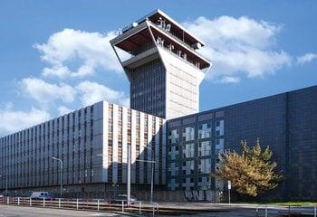 TELECOM office centre, Olšanská, Praha 3 - Žižkov