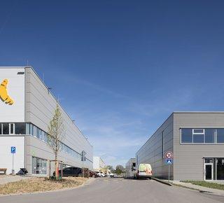 CTPark Brno Líšeň - pronájem skladových a výrobních prostor