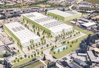 Nová výstavba skladovacích a výrobních prostor - Praha - Dolní Měcholupy