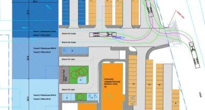 Pronájem skladových a výrobních prostor -  cca 2.600 m² - Hradec Králové