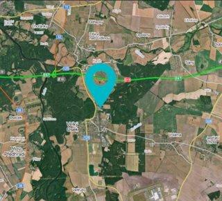 Sale, Land for commercial construction, 39000 m2 - Velký Osek
