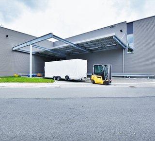 Pronájem skladové a výrobní haly - 1.763 m² - Borská Pole