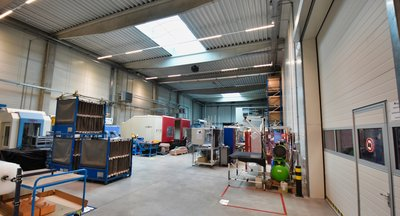 Lager- und Produktionshalle zu vermieten - 1.974 m2 - Borská Pole