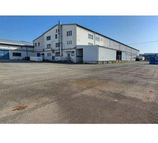 Pronájem skladových i výrobních prostor -  1.181 m² + kanceláře 537 m2 stanová hala  - Plzeň Radčice