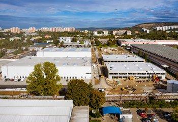 Lease, Commercial Warehouses -CTBox Brno-Líšeň