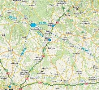 Sale, Land for commercial construction, 100000 m2 - Mladá Boleslav
