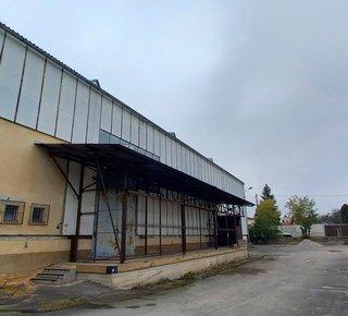 Warehouse halls with a bridge crane - Nýřany
