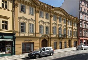 Harrachovský palác, Jindřišská, Praha 1 - Nové Město