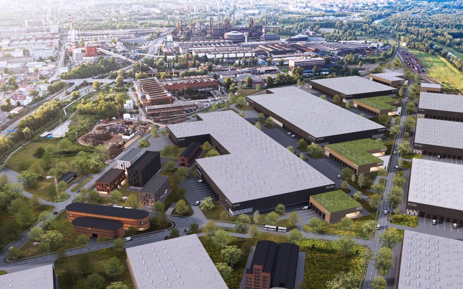 P3 Park Ostrava - lease of warehouse and production space
