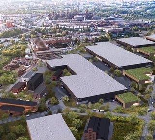 P3 Park Ostrava - pronájem skladových a výrobních prostor