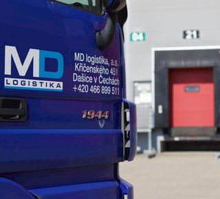 The top logistics company offers its services in a strategic location in Prague 9 - Horní Počernice near the D11.